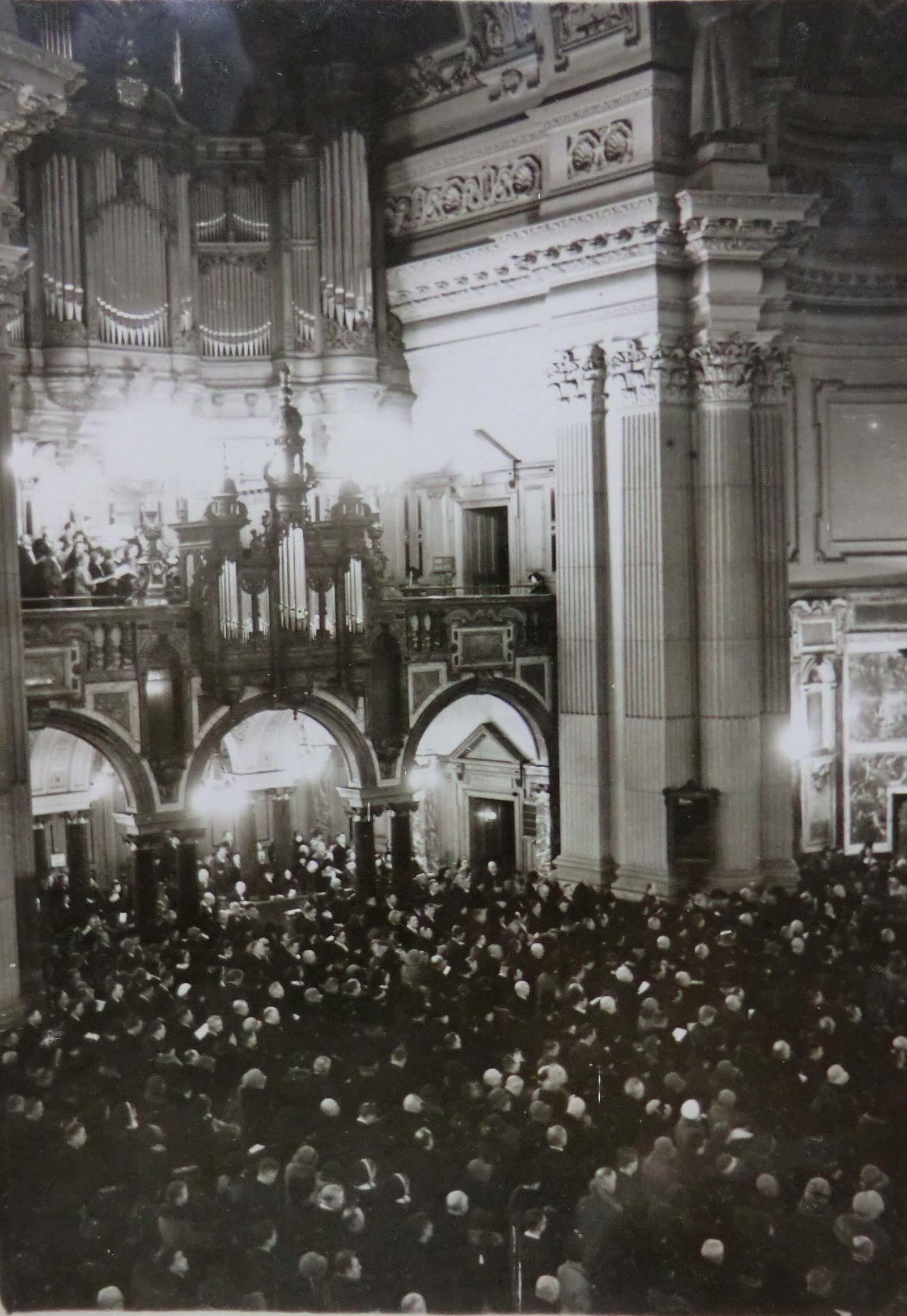 Geschichte Der Gemeinde Berliner Dom