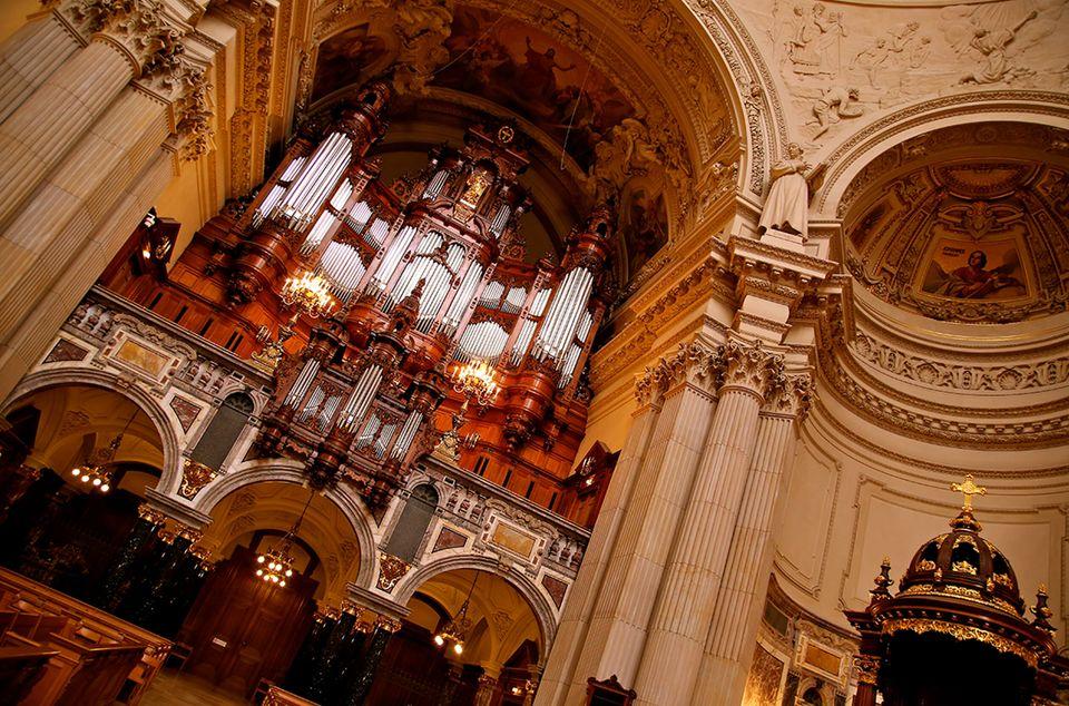 Great Sauer Organ Berliner Dom
