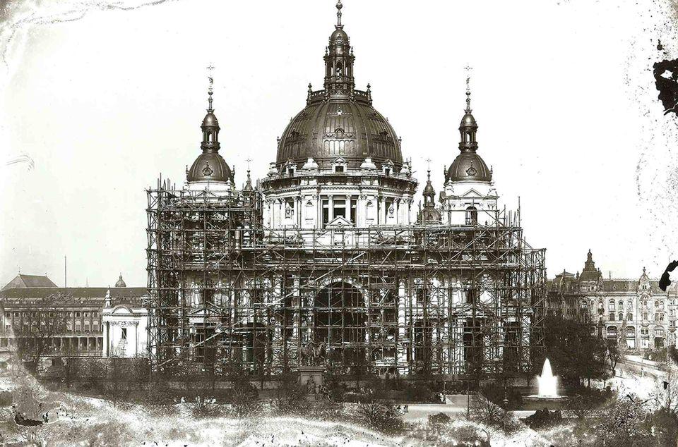 Baugeschichte Bis 1905 Berliner Dom
